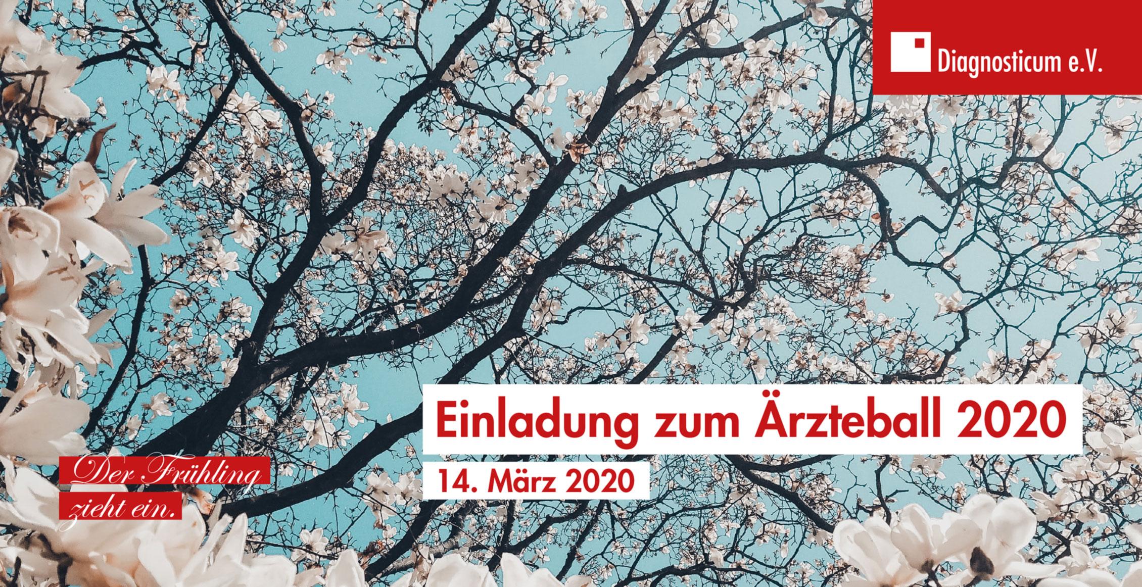 Einladung zum Ärzteball 2020 in Chemnitz / Sachsen